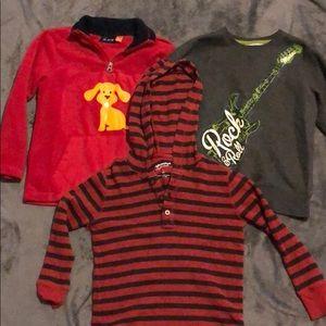 Other - 3 boys' sweatshirts